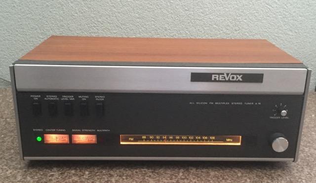 Revox A76 tuner
