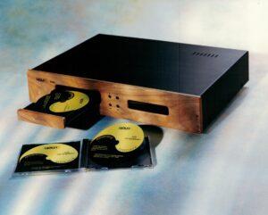 Holfi A42 CD demper Hansted Audio