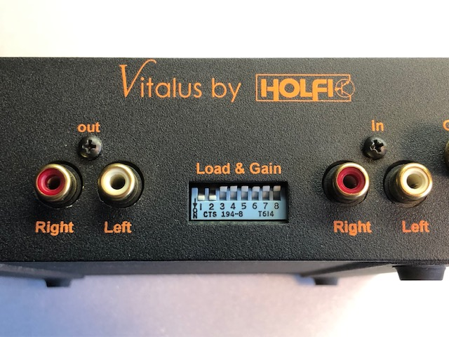 Holfi Vitalus Hansted Audio