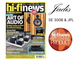 Hi-fi News Jadis test Hansted Audio