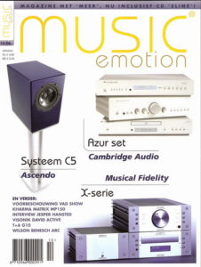 Hansted Audio in Music Emotion